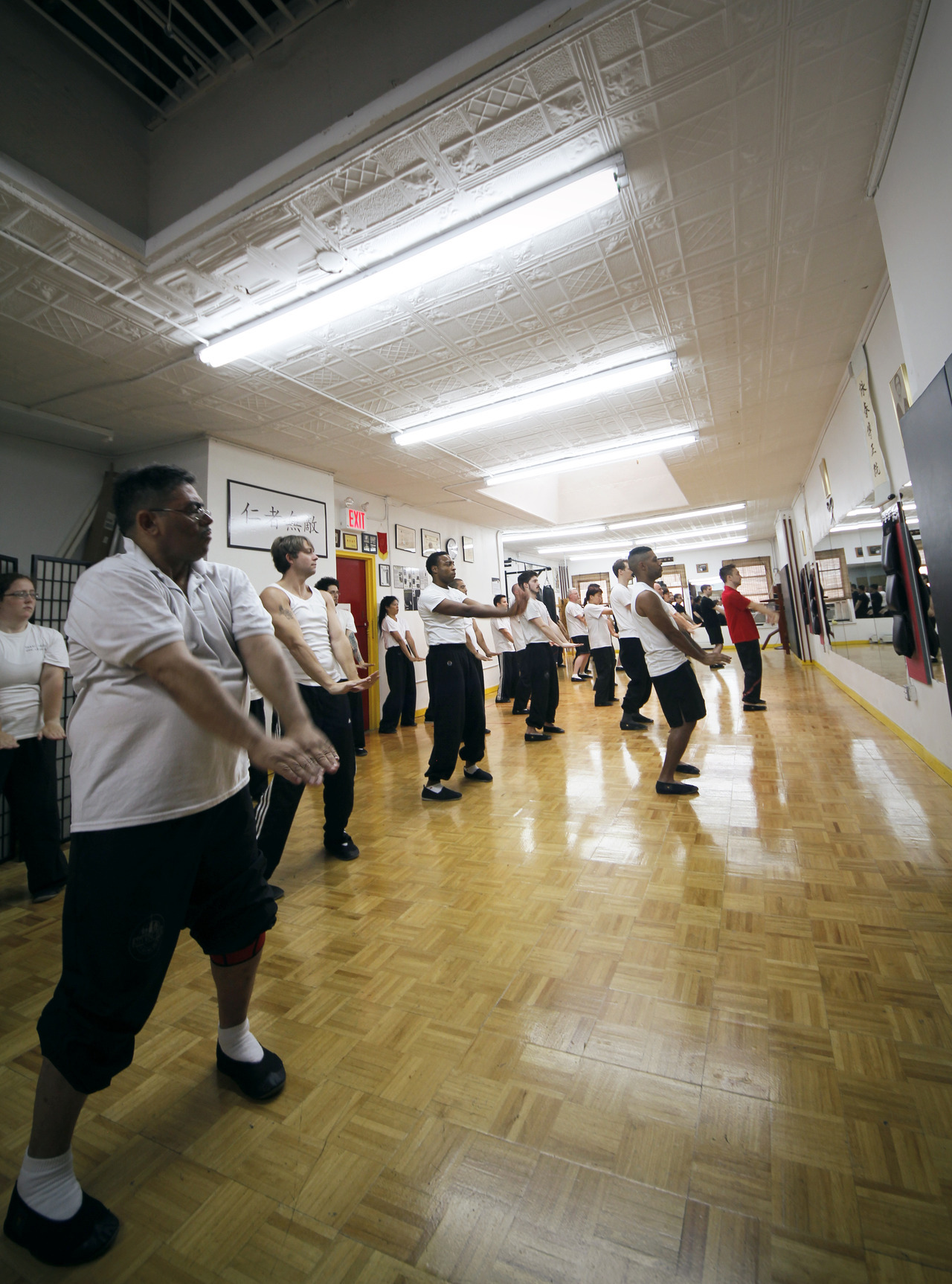 From the first few moments of the Summer Intensive Seminar at City Wing Tsun!
