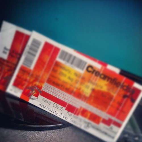 Oh hello! #creamfields  (Taken with Instagram)