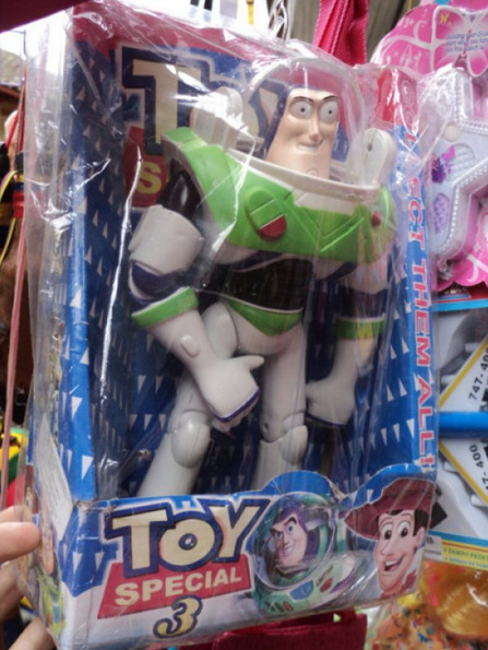 "Weird-Looking Knock-Off Buzz Lightyear Putting the special in ""Toy Special 3"""