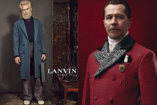 Lanvin and Prada doing the whole Gothic Werewolf Vampire Hunter Slovakian Emperor thing.