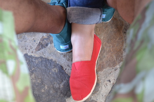 His and Hers Toms