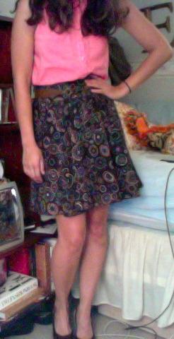 i do still get dressed.  wiwt: work and seeing my dear pal JENNA!!!