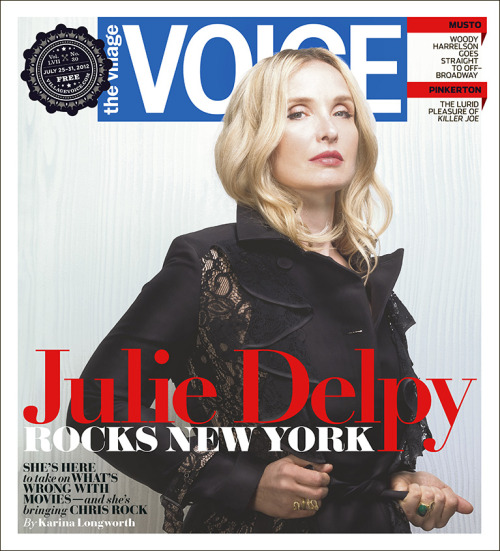 This week in the Voice, Karina Longworth profiles Julie Delpy, who is taking on everything that's wrong with movies. Nick Murray writes about the Westchester Punk scene, Robert Sietsema eats tapas on Starr Street, and much, much more.