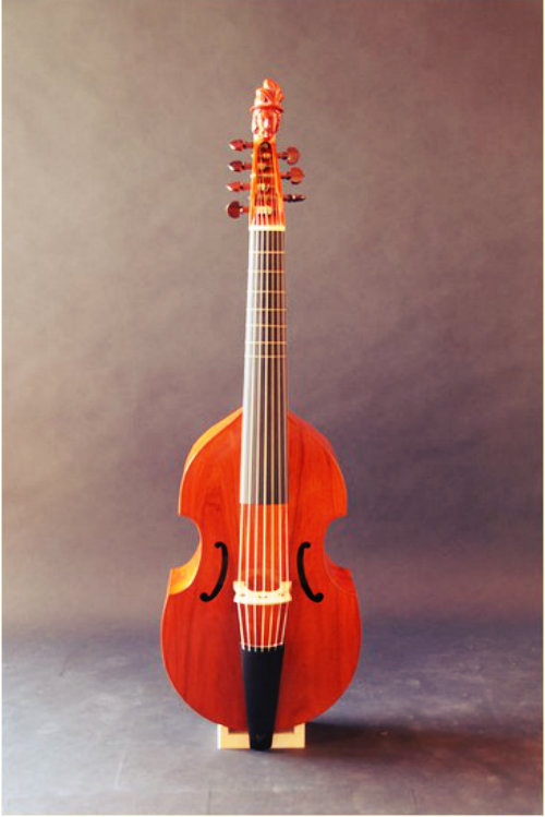 Christian Laborie - Viola da gamba after Michel Colichon (1683)
