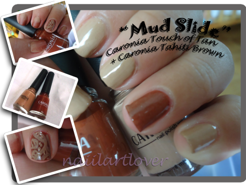 Caronia Touch of tan + Caronia Tahiti brown   art