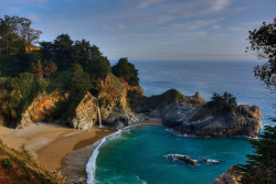 thebestbeaches:  McWay Falls (by the_tahoe_guy)  (via imgTumble)