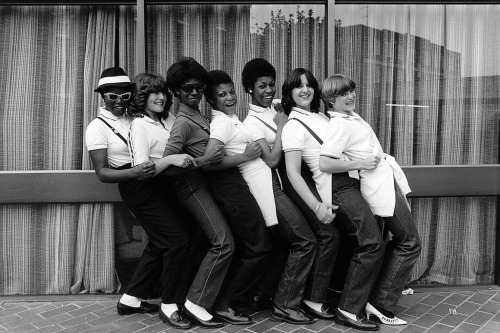 ska girls, 1980photo by Janette Beckman