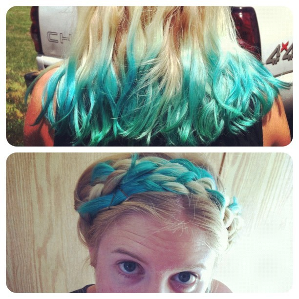 mermaid hair! (Taken with Instagram)
