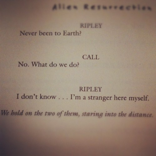 "liz-skullcrusher-perash:  ""Alien Resurrection"" (Taken with Instagram)"