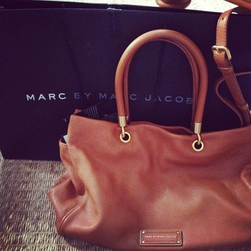 Sometimes its hard to say no to a little bit of Marc Jacobs! (Taken with Instagram)