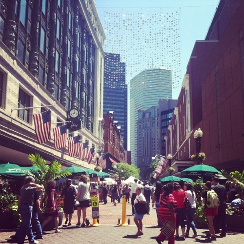 Downtown crossing #boston (Taken with Instagram)
