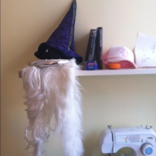 Home is where my wizard hats and beards are. (Taken with Instagram)