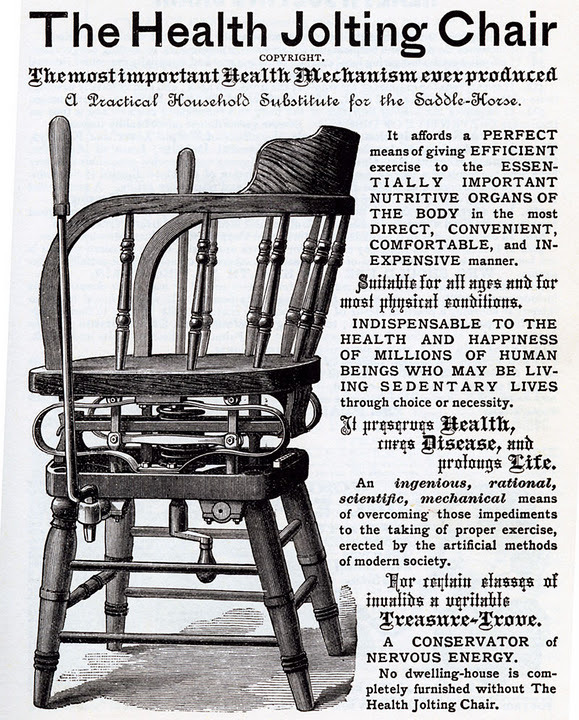 1886—Health Jolting Chair