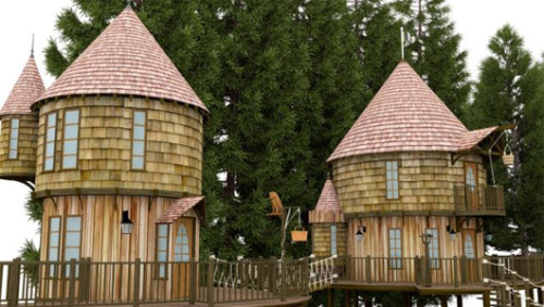 J.K. Rowling planning massive backyard treehouse that resembles HogwartsThe 2-story structures feature secret passages, slides and trap doors and will cost more than $230,000.