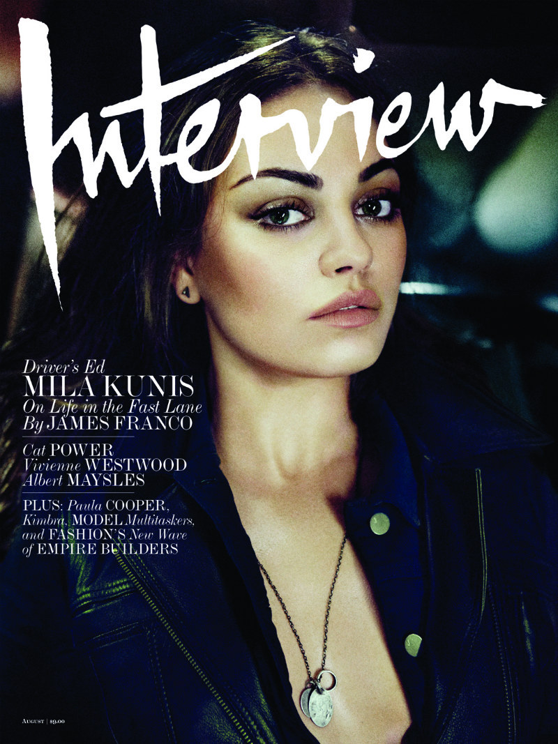 craigmcdean:  Mila Kunis by Craig McDean for Interview August 2012