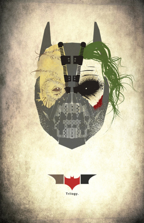 papertrees:  dawnawakened:  Dark Knight Trilogy  worth reblogging