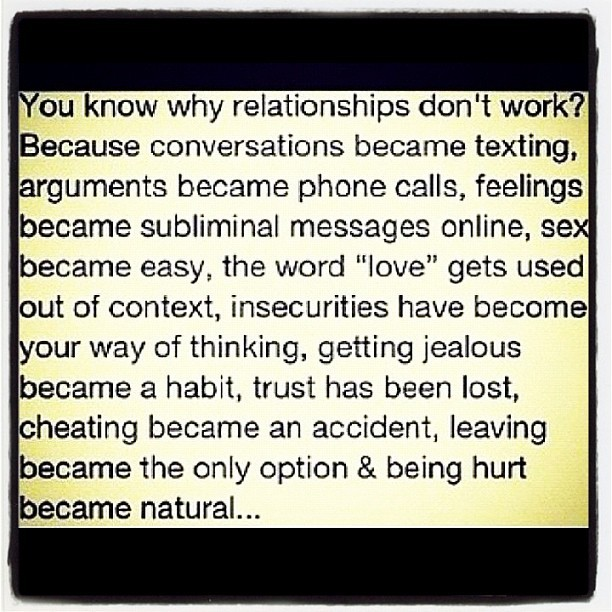 #quote #quotes #quoteoftheday #truth #true #truestory #relationships #breakups #drama #problems #issues #life #factsoflife #igdaily #igers #webstagram #love #ignation #statigram #instalove #instamood #follow (Taken with Instagram)