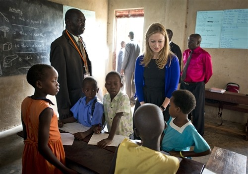 "'Building Tomorrow' - one school at a time in Uganda (Photo: Barbara Kinney) KAMPALA, Uganda – The Building Tomorrow Academy of Gita, about an hour outside of Uganda's capital city of Kampala, is an amazing example of what can be accomplished when local communities and international organizations work together toward innovative solutions to educational challenges.    While in Uganda last week, I met the dynamic tag team of George Srour, the American founder and ""chief dreamer,"" and Joseph Kalisa, the Ugandan country director, behind the school in Gita, as well as seven other Building Tomorrow ""academies"" in Uganda. Read the complete story."
