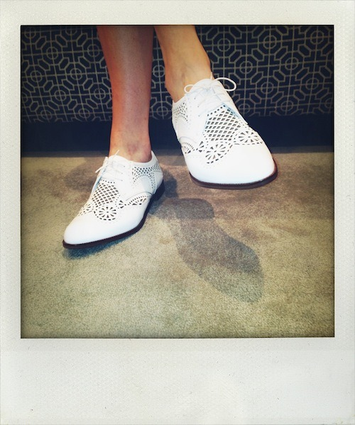 In love with these Sergio Rossi brogues!