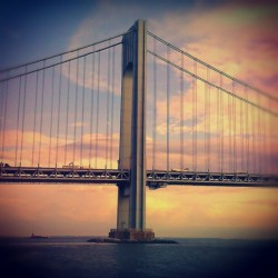 The Bridge to Shaolin… #VerrazanoNarrowsBridge #ShorePromenade #Brooklyn #StatenIsland #Shaolin #NewYorkCity #IThinkImAPhotographer #Androidography #AmateurPhotography  (Taken with Instagram at Shore Promenade)