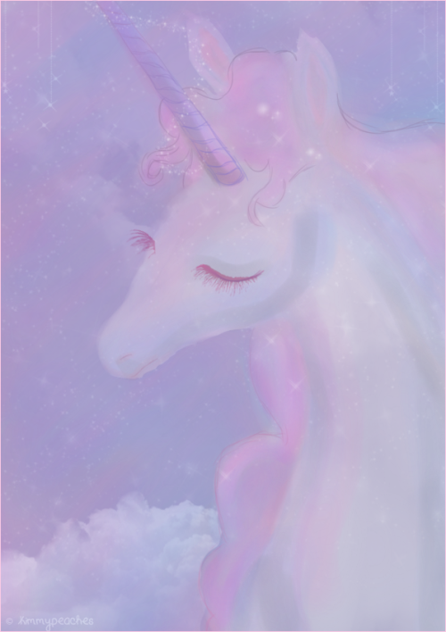 unicorn-bait:  Unicorn by ~KimmyPeaches