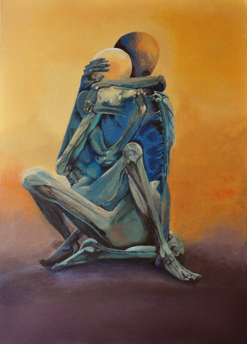 trailerparkofmydreams:  Zdzislaw Beksinski Visited his gallery today….amazing art!