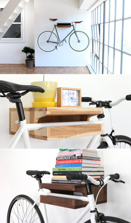 12 space-saving bike rack solutions after the jump. [ko]