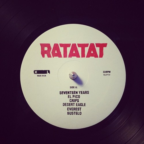 No disrespect, but thats how I am. #ratatat #seventeenyears (Taken with Instagram)