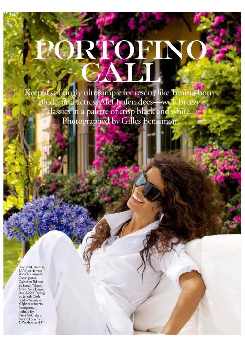 Portofino Call Photographed by Gilles Bensimon  Among my favorites!