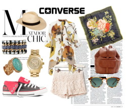 A casual chic look in converse, for a day walking about, hiking or biking …