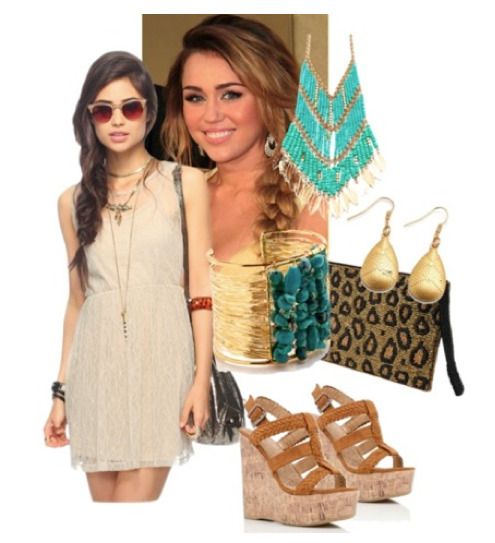 Hello, boho! Get this look, inspired by Miley Cyrus, for under $30.