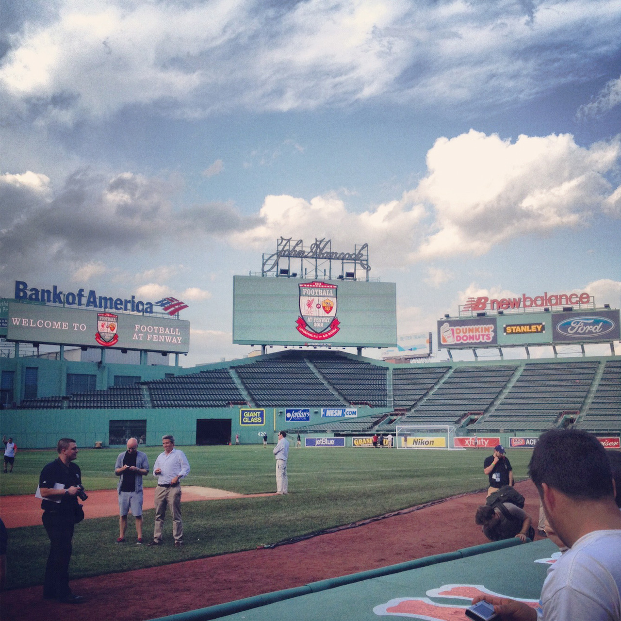 Futbol at Fenway
