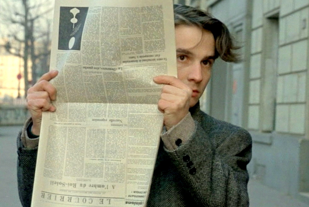 Jean-Pierre Léaud  Stolen Kisses (1968) Directed by François Truffaut