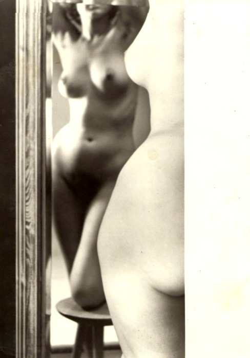 Nude in Mirror by Zdeněk Virt, 1967Also