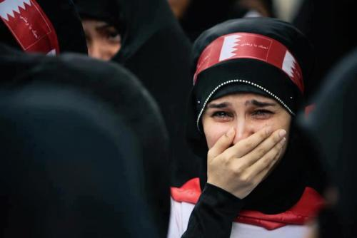 abustaif:  The world remains silent about Bahrain.