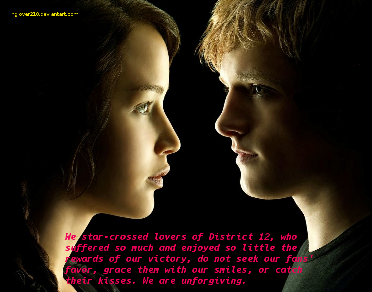 Star-Crossed Lovers by ~hglover210 That is such a good quote.
