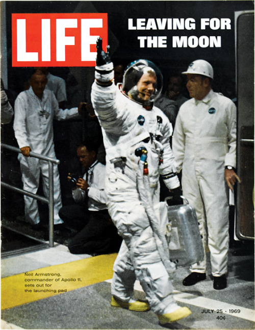 On this day  — July 25, 1969: Leaving for the Moon See more photos from the Apollo 11 here.