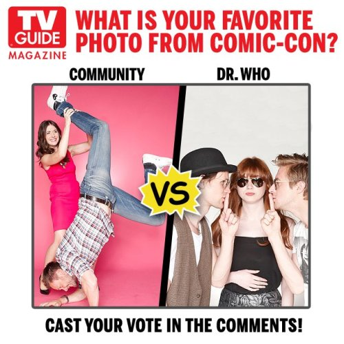 staticofyourarms:  YOU CAN'T MAKE ME CHOOSE, TV GUIDE. THIS HAS GOT TO BE A FORM OF CRUEL AND UNUSUAL PUNISHMENT.  the one where #amymeetsabed