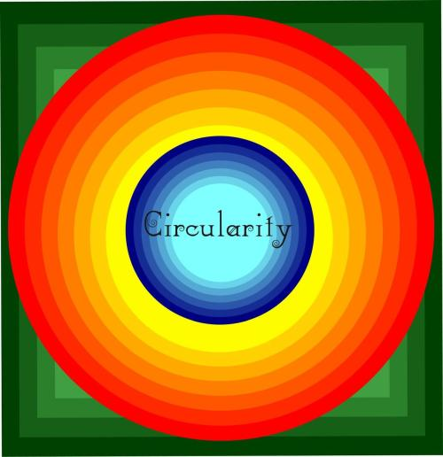 cronusart:  CRONUS just started a new project! CIRCULARITY it's a digital art project that tries to resembles the life in polygons. The first piece is quite simple and symbolizes the simplicity of life by multiple circles only with hot and cold colours that also symbolize the happy&good moments and the sad&bad moments. To show the complexity of life the Circularity has a green Background image that show the neutral part of life that interferes with the simple part turning life and Circularity so harmonious by making it simple and complex simultaneously.