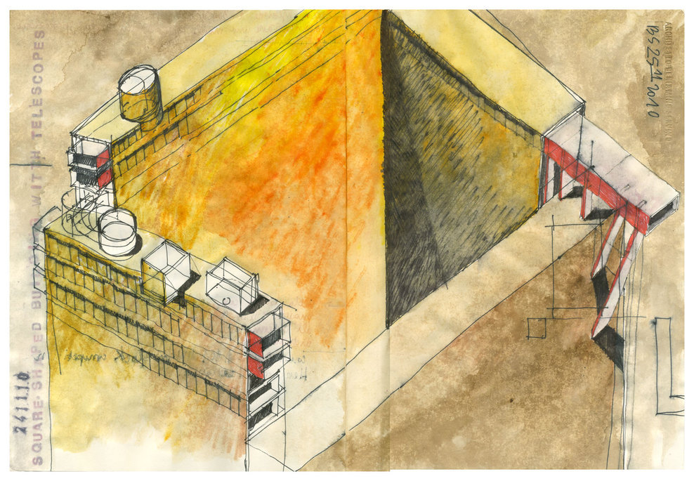ARCHITECTURAL COLOR SKETCHES | 1233 | Beniamino Servino | SOURCE