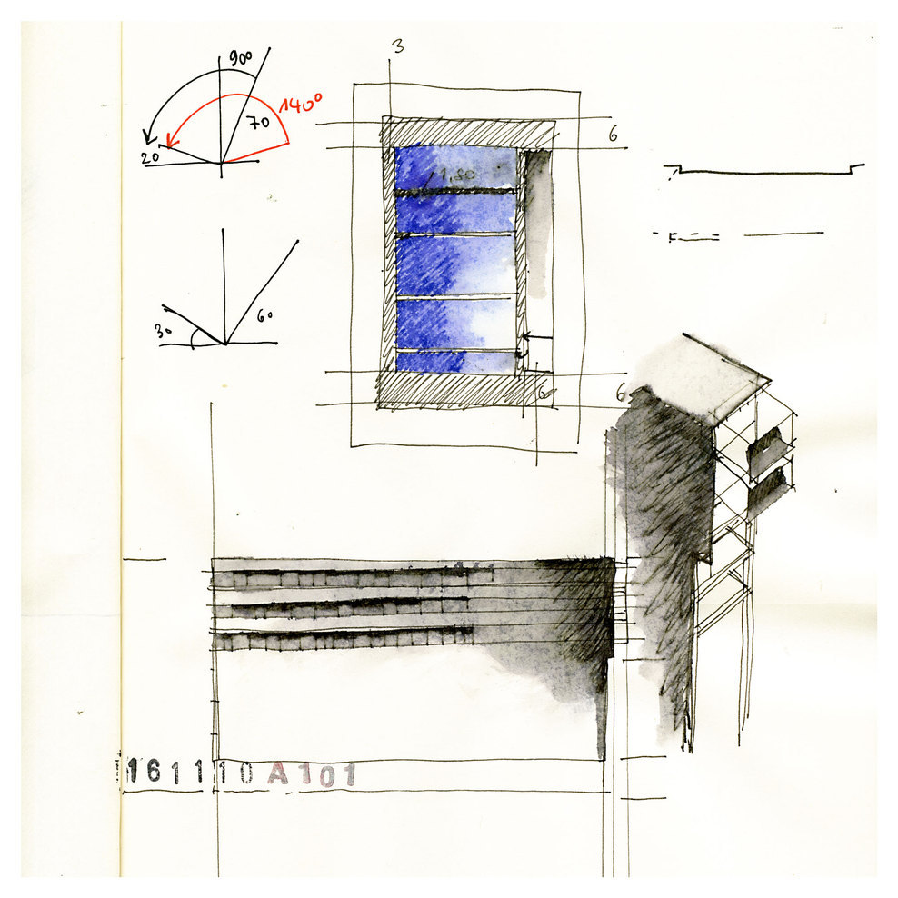 ARCHITECTURAL COLOR SKETCHES | 1237 | Beniamino Servino | SOURCE