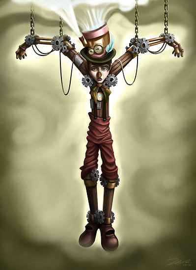"""Steam Punk Pinocchio"" by Tom Bradnam 