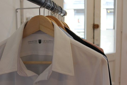 A view of our Agent shirt in the new showroom! Grand Opening on Tuesday, August 7!! Details to come. RSVP HERE.