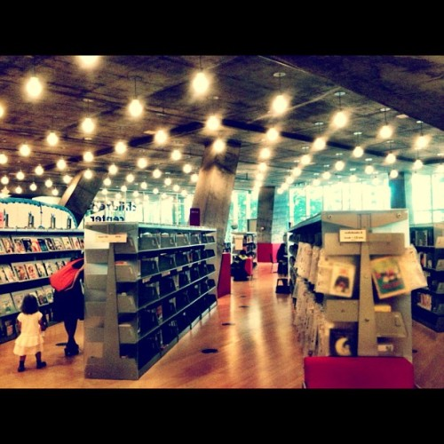 It's all about books in here! #seattle #oma #library #koolhaas  (Taken with Instagram at Seattle Public Library)