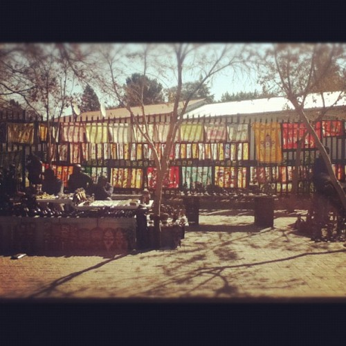 Market in #Soweto #africa #travel #safari #market  (Taken with Instagram)