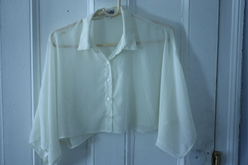 Cheap Monday cropped blouse (from Nastygal)Sz XS  $15 (Retail: $41—over half off!)