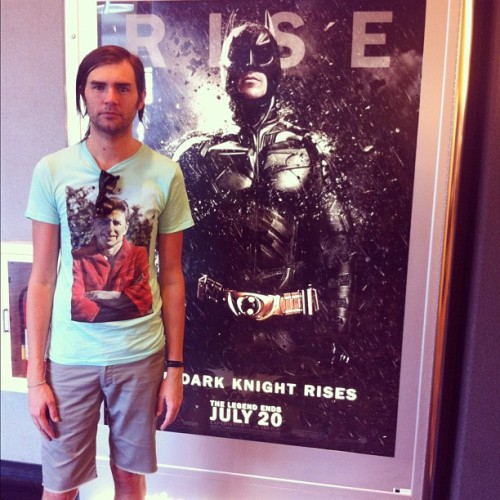 Batman with @brookspaschal.  (Taken with Instagram)