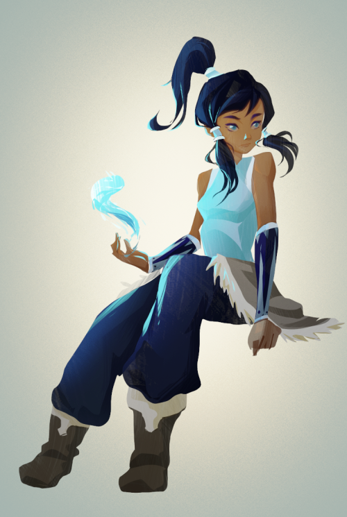 Korra, the Avatar. Love Love this show.