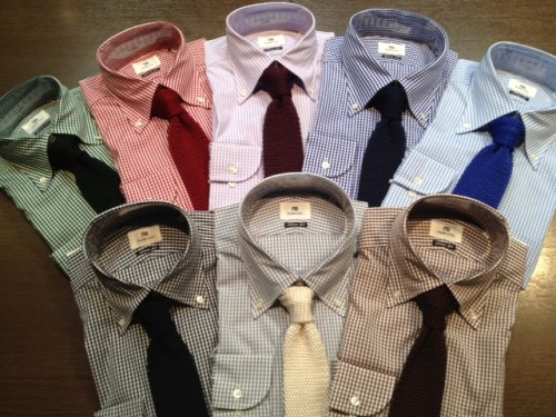 awesome knits and gingham shirts here. i would love to wear all of this. my type of style!