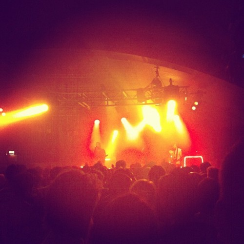 We Are Scientists @thegarage #instagram #music #live #gig #wearescientists (Taken with Instagram)